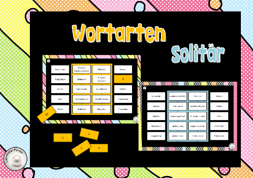 Wortarten Solitaer T
