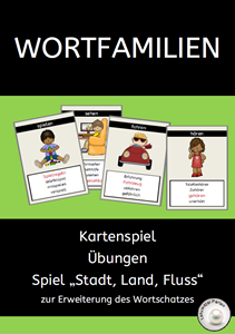 Wortfamilien Quartett 2018 T