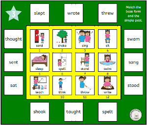 engl verbs solitaire 1