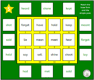 engl verbs solitaire 2