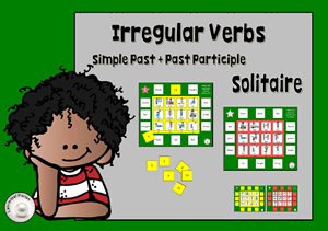 engl verbs solitaire T