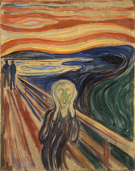 Edvard Munch The Scream Google Art Project