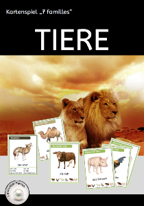 Tiere 7 familles T
