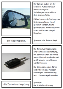 Automobil Begriffe 2
