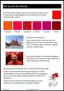 Farbe Rot 1