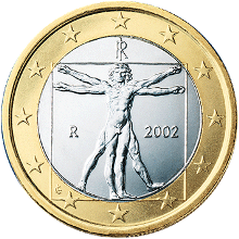1 euro coin It serie 1 1