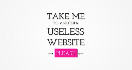 useles website