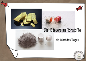 WDT Rohstoffe