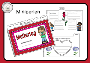 Muttertag Miniperlen T