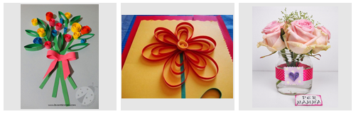 Muttertag Quilling