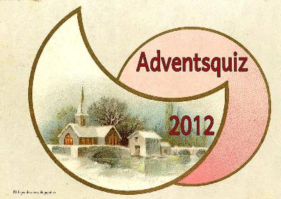 Adventsquiz 20121